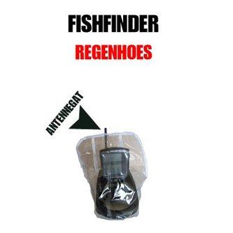Universele regenhoes voor de Fishfinder/ dieptemeter