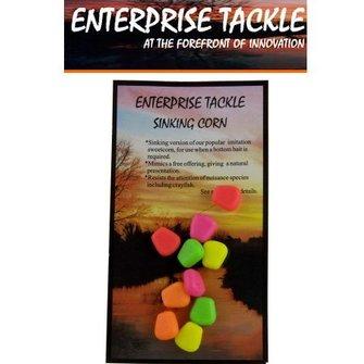 Enterprise Tackle Zinkende maïs korrels FLUO (10 stuks)