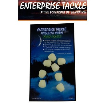 Enterprise Tackle Niteglow Sweetcorn (8 stuks - neon green)