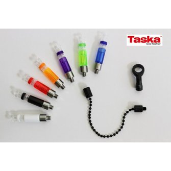 Taska Rizalite Mini Ball Chain Ball Clip Set (BLACK)