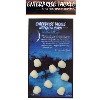 Enterprise Tackle Niteglow Sweetcorn (8 stuks - neon blue)