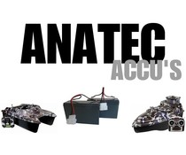 Anatec voerboot accu's