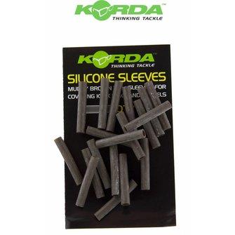 Korda Silicone Sleeves (brown)