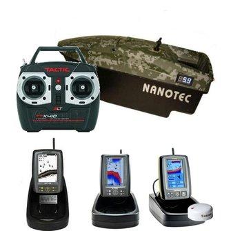Nanotec 2015 met Fishfinder/ GPS