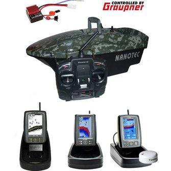 Nanotec Graupner 2015 met Fishfinder/ GPS