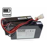 Lithium (LION) accus met oplader voor diverse voerboten