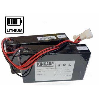 Lithium (LION) accus met oplader Lithium (LION) accus met oplader voor diverse voerboten