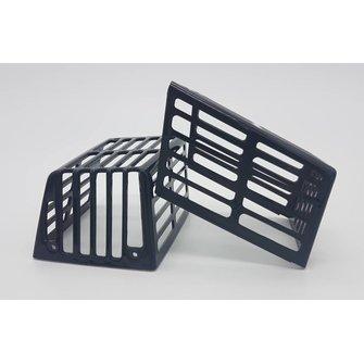 Wier/ schroef beschermer set (2x) Zwart