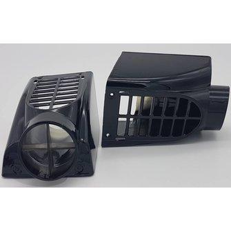 Wier/ schroef beschermer set (2x) Zwart UPGRADE