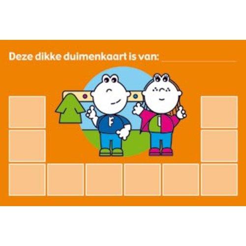 Dikke Duimenkaarten Frokkie & Lola