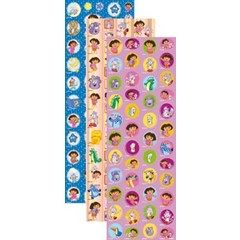 Dora Stickervel Dora