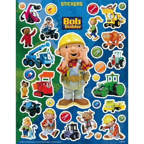 Bob de Bouwer Stickers Bob de Bouwer