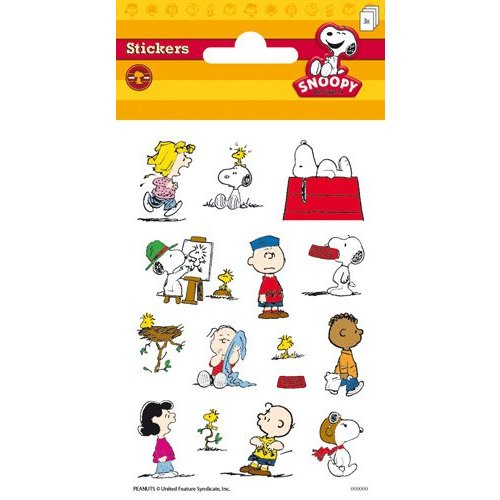 Stammetjes Stickers Snoopy