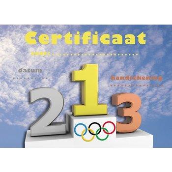 Olympisch certificaat