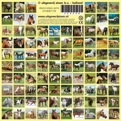 vuur stickers paard
