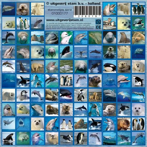 Stammetjes Stickers sealife