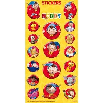 Stickervel Noddy met 18 verschillende uitvoeringen
