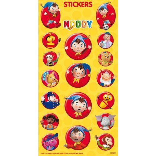 Stickervel Noddy