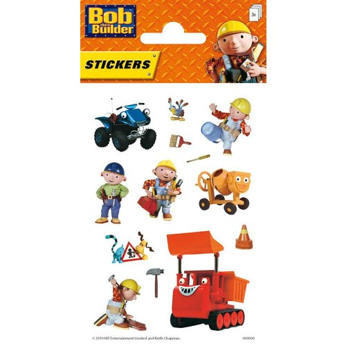 Stickers Bob de Bouwer