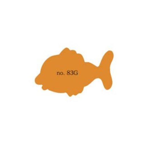 Grote vis in verschillende kleuren