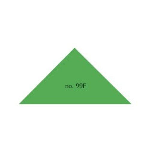 Driehoek 43x43x60 mm. in verschillende kleuren