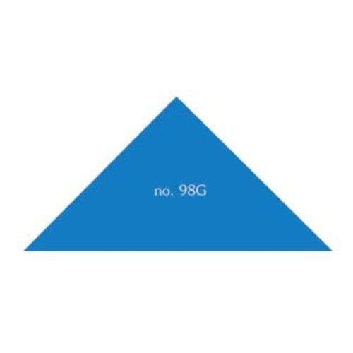 Driehoek 50x50x70 mm. in verschillende kleuren