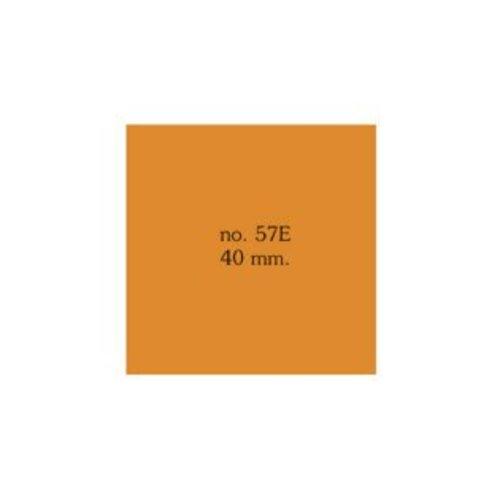 Vierkant 40 mm. in verschillende kleuren