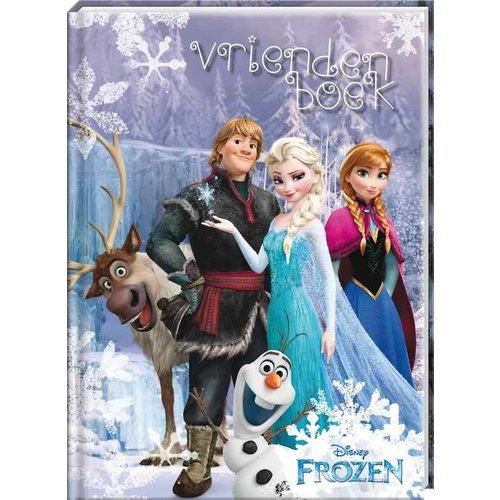Disney Vriendenboek Frozen met GRATIS Frozen stickervel