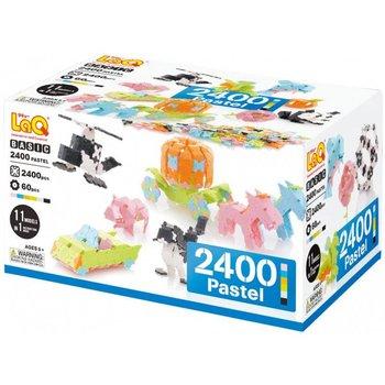 LaQ LaQ Basic 2400 Pastel voor 'de bouwers'