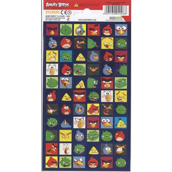 Stickervel Angry Birds