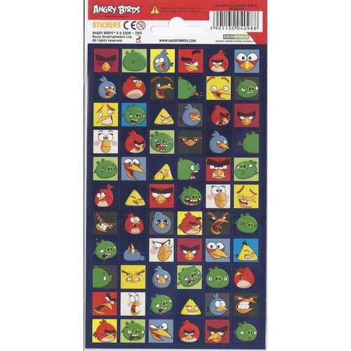 Disney Stickervel Angry Birds