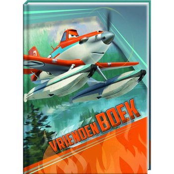 Disney Vriendenboek Planes met GRATIS Planes stickers en afbeeldingen van Dusty
