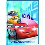 Vriendenboek Cars met gratis stickervel