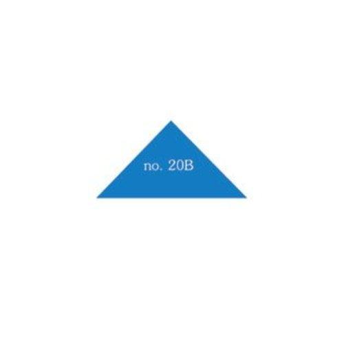Driehoek 25x25x35 mm in Verschillende Kleuren