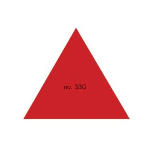Driehoek 33x33x33 mm in Verschillende Kleuren