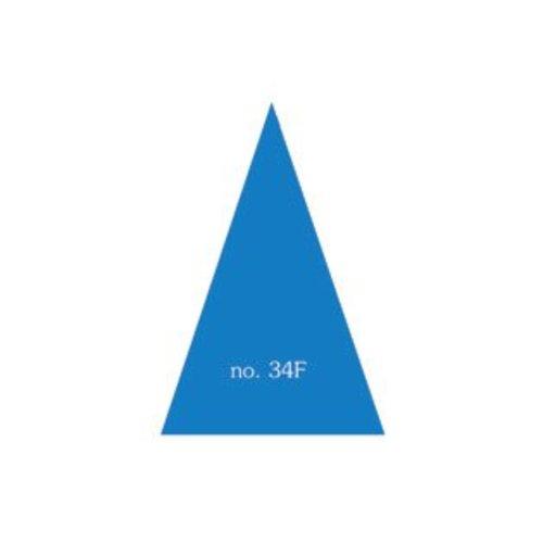 Driehoek 33x52x52 mm in verschillende Kleuren