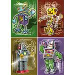 Reuzewenskaart Robotdans