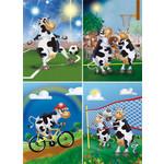 Reuzewenskaart Sportende Koeien