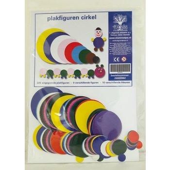Plakfiguren cirkels - rond