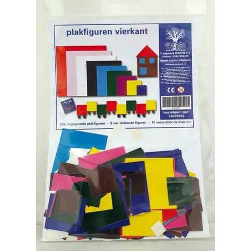 Plakfiguren vierkant