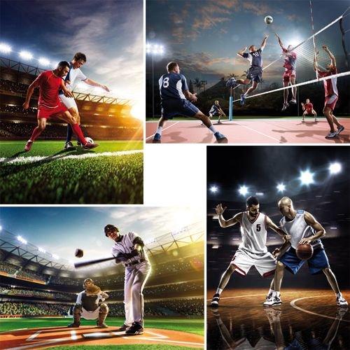 Reuzewenskaart serie 11046 - sport