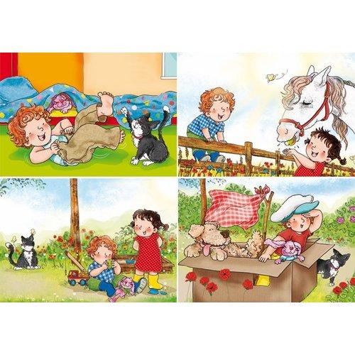 Reuzewenskaarten met Bas illustraties
