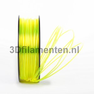 3dfilamenten PLA TRANSPARANT GEEL Filament 1KG