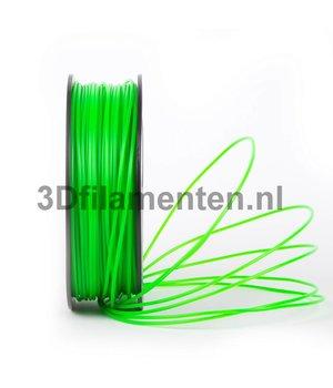 3dfilamenten PLA TRANSPERANT GROEN Filament 1KG