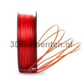 3dfilamenten PLA TRANSPARANT ROOD Filament 1KG