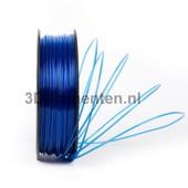 3dfilamenten PLA TRANSPARANT BLAUW Filament 1KG