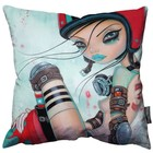 "Caia Koopman - Cannonball Girl Pillow 18"" - 45cm"