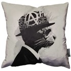 "Hidden Moves Middle Class Rebel pillow 18"" - 45cm"