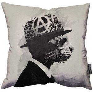 """Hidden Moves Middle Class Rebel pillow 18"""" - 45cm"""