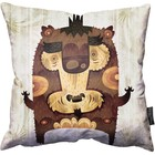 "Albertino Cerriteno - Bear Pillow 18"" - 45cm"